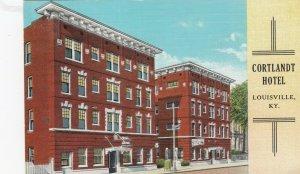 LOUISVILLE , Kentucky , 1930-40s ; Cortlandt Hotel