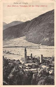 Vintschgau Italy Scenic View Antique Postcard J41320