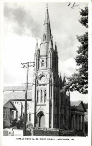 australia, LAUNCESTON, Tasmania, Christ Church (1950s) Murray Views 49