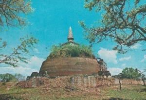 Thuparama Dagoba Ceylon Sri Lanka India Mint Antique Postcard