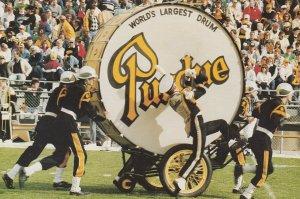 WEST LAFAYETTE, IN, 50-60s; Big Boom, World's Largest Drum, Purdue U. Band