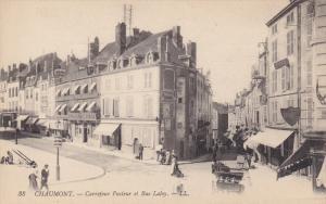 CHAUMONT , France , 1900-10s ; Carrejour Pasteur et Rue Laloy