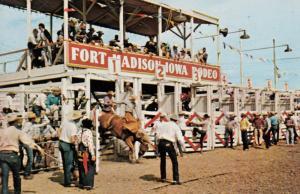 Fort Madison , Iowa , 50-60s Tri-State Championship Rodeo