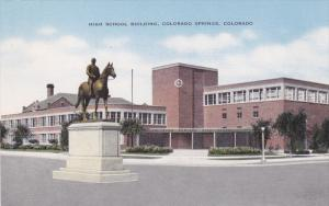 High School , Colorado Springs , Colorado , 30-40s