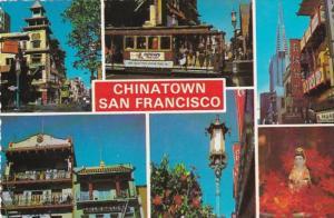 California San Francisco Chinatown Multi View