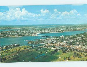 Unused Pre-1980 PANORAMIC VIEW Palm Beach - West Florida FL F8880