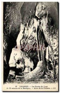 Old Postcard Lourdes Caves Du Loup Lair of the chimera