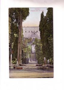 Prospetto della Villa d'Este, Tivoli, Italy