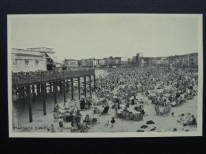 Kent MARGATE SUNDECK & SANDS - Old Postcard by Lincoln Green Ltd ME46