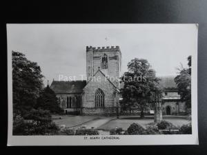 North Wales DENBIGHSHIRE St. Asaph Cathedral - Old RP Postcard