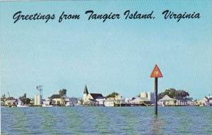Virginia Greetings From Tangier Island