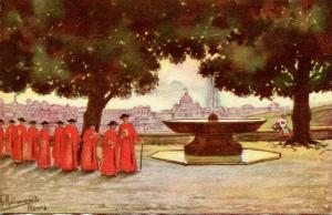 Italy - Rome, View from the Franciscan Academy