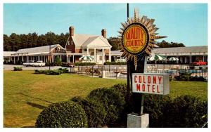 Virginia  Williamsburg , Colony Motel