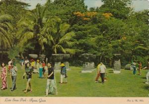 Guam Agana Latte Stone Park