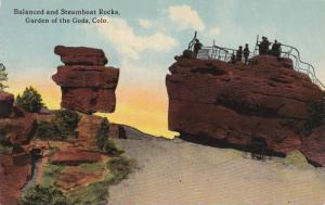 Balanced and Steamboat Rocks, Garden of the Gods, Colorado 1900-10s