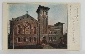 Frankford Phila Pa Rohoboth M.E. Church 1907 udb Postcard S6