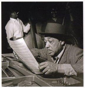 Duke Ellington Live Chicago Rehersal Jazz Award Photo Postcard
