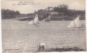 Le Necey, Sail Boats, Cote D'Emeraude, SAINT-BRIAC, Ille et Vilaine, France, ...