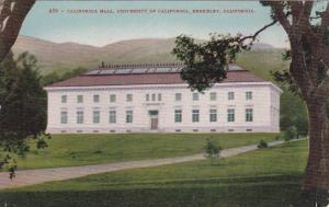 Exterior, California Hall, University of California, Berkeley, California, 00...