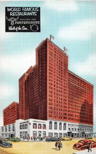 Chicago Illinois The Sherman Hotel Vintage Postcard JA4741604