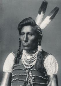 Me Catchem, Native American Crow Indian 1883 photo - Western USA Recent Print
