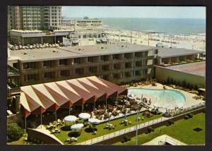 NJ Pool Marlborough Blenheimn Hotel, Atlantic City, New Jersey Postcard