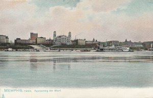 MEMPHIS , Tennessee, 1901-07 ; Approaching the Wharf ; TUCK 2008