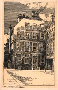 Dr Johnson's House,London,England,UK