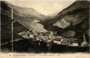CPA La Grave - Vue contre le Lautaret FRANCE (962072)