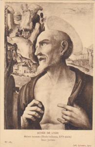 France Lyon Maitre inconnu Saint Jerome Musee de Lyon