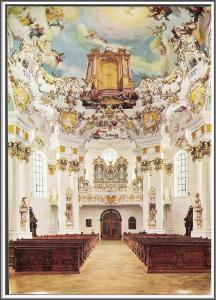 Die Wies Pilgrimage Church Postcard