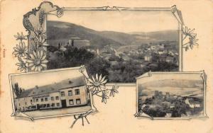 Germany to identify gasthaus art nouveau style postcard