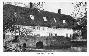 uk52674 abbey mill coggeshall real photo  uk