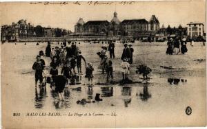 CPA MALO-les-BAINS-La Plage et le Casino (188412)