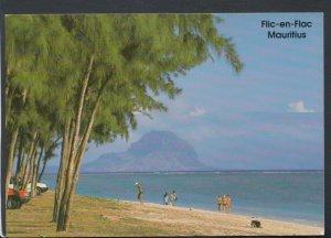 Mauritius Postcard - Flic-En-Flac Beach, Site of La Pirogue Hotel     T6494