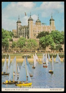 Regatta at the Tower of London