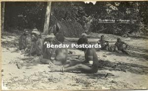 Bismarck Archipelago PNG, NAKANAI, New Britain, Wild Papua Natives (1910s) RP