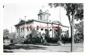 ID, Caldwell, Idaho, RPPC, Court House, Exterior View, Ellis No 4181