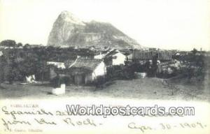 Gibraltar Germany, Deutschland Postcard Rock form La Pederea  Rock form La Pe...