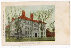 High School, Lowell MA