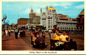 New Jersey Atlantic City Rolling Chairs On The Boardwalk