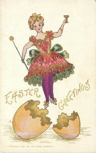 Easter~Party Girl~Magic Wand~Hatches From Egg~Gold Leaf~Stillwater St Croix Shoe