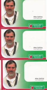 Mike Gatting England Vs South Africa Cricket Test Series Three Publicity Card s