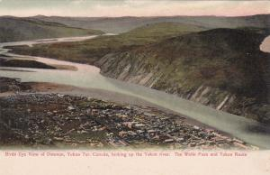 DAWSON , Yukon , Canada , 1900-10s; Looking up the Yukon River