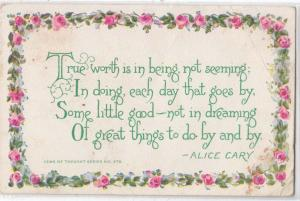 Flower Borded by Alice Cary