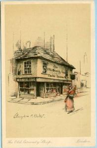 UK - England, London, The Old Curiosity Shop Artist Signed: Bates