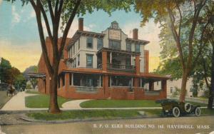 B.P.O. Elks Building No. 165 - Haverhill MA, Massachusetts - pm 1914 - DB