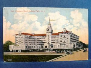 Postcard NJ Asbury Park the New Monterey Hotel 1914