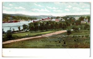 Early 1900s Livermore Falls, ME Postcard
