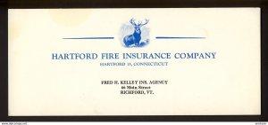 Richford, Vermont USA - Fred H. Kelley, Hartford Insurance BLOTTER
